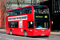 Route 188, Abellio London 2409, SN61DGE, Elephant & Castle