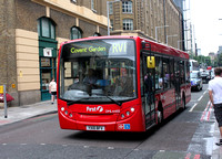 Route RV1, First London, DML44155, YX10BFV, London Bridge
