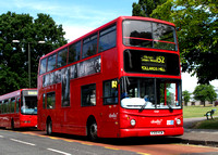 Route 152, Abellio London 9709, V309KGW, Pollards Hill
