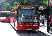 Route S2, First London, DML41734, X734HLF, Stratford