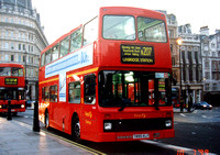 Route N207, First Challenger, VN895, T895KLF, Trafalgar Square