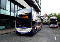 Route X50, Stagecoach Manchester 19274, MX08GPV, Manchester
