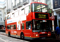 Route N14, London General, NV169, R369LGH, Piccadilly