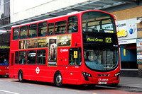 Route 123, Arriva London, DW445, LJ11AAF,  Ilford