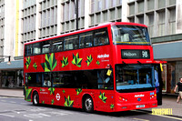 Route 98, Metroline, BYD1475, LJ16EZR, Oxford Street