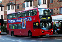 Route 120, London United RATP, ADE8, YX12FNO, Hounslow