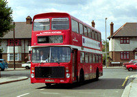 Route W8, London Northern, JOV754P, Edmonton