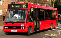 Route W5, CT Plus, OS10, YJ60PFD, Archway