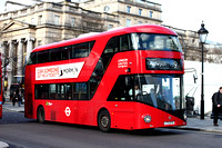 Route 9, London United RATP, LT79, LTZ1079, Trafalgar Square