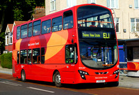 Route EL1, Go Ahead London, WVL347, LX59DFG, Barking