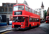 Route 14A, London Northern, M1448, UWW518X, Tottenham Court Rd