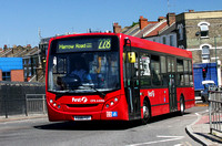 Route 228, First London, DML44066, YX58FOT, Willesden Junction