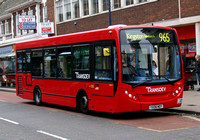 Route 965, Transdev, SDE3, YX08MDY, Kingston