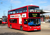 Route 115, Stagecoach London 17516, LX51FNU, Canning Town