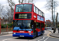 Route 260, Metroline, VP481, LK03GLY, Harlesden