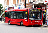 Route E7, First London, DML44113, YX09FLE, Ealing Broadway