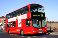 Route 258, Arriva The Shires 6030, YJ55WOD, Harrow Weald