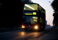 Route N89, Go Ahead London, WVL233, LX06DZR, Shooters Hill