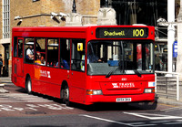 Route 100, Travel London 8301, BX54DKA, Liverpool Street Station