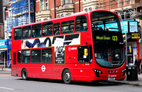 Route 123, Arriva London, DW445, LJ11AFF, Ilford