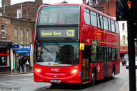 Route C2, Abellio London 9528, SN12ABF, Kentish Town