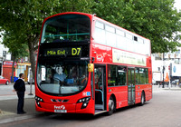 Route D7, First London, VN37831, BG59FXE, Mile End