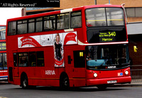 Route 340, Arriva The Shires 6025, YJ54CFG, Harrow