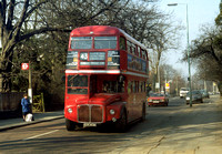 Route 43, London Transport, RML2353, CUV353C, Muswell Hill