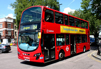 Route 254, Arriva London, DW521, LJ13CMF, Bethnal Green