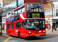 Route 250, Arriva London, DLA4, S204JUA, Croydon