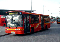 Route S2, First London, DML322, V322GBY, Stratford