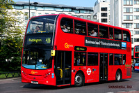 Route 436, Go Ahead London, EH7, SN61BLK, Marble Arch
