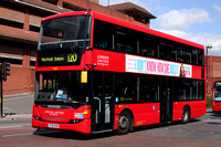 Route 120, London United RATP, SP189, YT10XCN