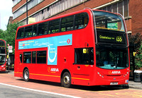 Route 135, Arriva London, T18, LJ08CVO, Old Street