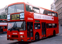 Route N8, Stagecoach East London, VA79, R179VPU, Trafalgar Square