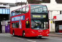 Route 365, First London, DN33549, SN58CFU, Romford