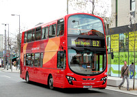 Route EL2, Go Ahead London, WVL335, LX59DDN, Barking