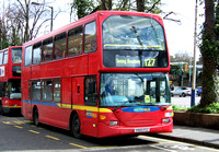 Route 127, Metrobus 434, YV03PZZ, Purley