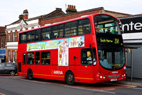Route 258, Arriva The Shires 6028, YJ55WOB, Harrow Weald