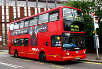 Route 466, Arriva London, DLA223, X423FGP, East Croydon