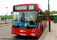 Route 359, Metrobus 709, AE09DHG, Addington Village