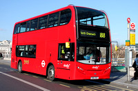 Route 188, Abellio London 2411, SN61DGO, Waterloo Bridge