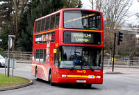 Route U4, First London, TN33331, LK03UFJ, Uxbridge