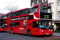 Route 417, Arriva London, VLA72, LJ04YXB, Streatham Hill