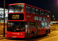 Route 550, Stagecoach London 17925, LX03OTA, Canning Town