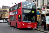 Route 156, Abellio London 9493, LJ09OLE, Wimbledon