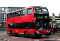Route 37, London Central, E24, LX06EYY, Peckham