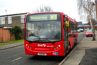 Route W11, First London, DML44163, YX10BGV, Chingford Hall Estate