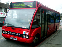 Route 463, Quality Line, OP12, YN03ZXF, Coulsdon