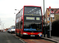 Route 151, Go Ahead London, DOE7, LX58CWV, North Cheam